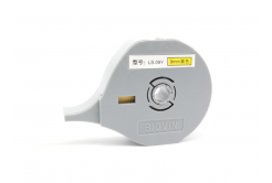 Selfadhesive tape Biovin LS-09Y, 9mm x 8m, yellow