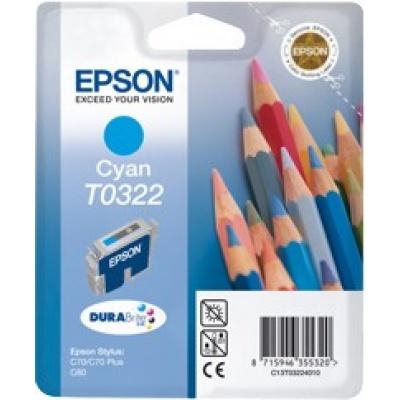 Epson C13T032240 cyan original ink cartridge