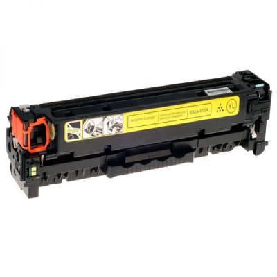 HP 304A CC532A yellow compatible toner