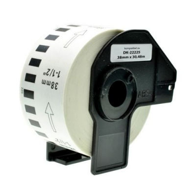 Brother DK-22225 38mm x 30,48m, roll, compatible labels