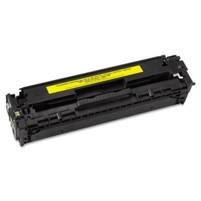 HP 125A CB542A yellow compatible toner