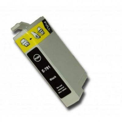 Epson T0791 black compatible inkjet cartridge
