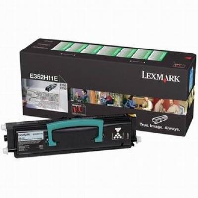 Lexmark E352H11E black original toner
