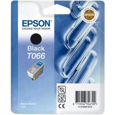 Epson C13T066140 black original ink cartridge