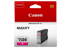 Canon original ink cartridge PGI-1500 M, magenta, 300 pages, 4.5ml, 9230B001, Canon MAXIFY MB2050,MB2150,MB2155,MB2350,MB2750,MB2755
