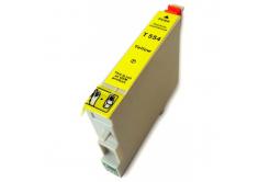 Epson T0554 yellow compatible inkjet cartridge