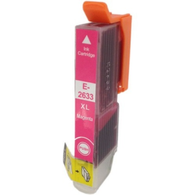 Epson T2633 XL magenta compatible inkjet cartridge