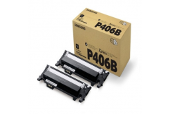 HP SU374A / Samsung CLT-P406B dual pack black original toner
