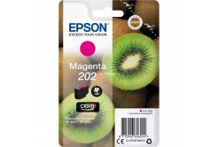 Epson original ink cartridge C13T02F34010, 202, magenta, 1x4.1ml, Epson XP-6000, XP-6005