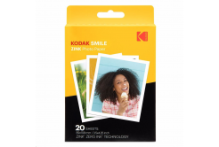 "Kodak RODZL3X420 samolepicí fotopapír ZINK 76x100 mm (3x4"") 20 listů, bílý, 290g/m2 termo"