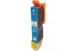 Epson T2432 XL cyan compatible inkjet cartridge