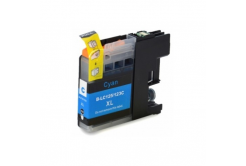 Brother LC-125XL/LC-127XL cyan compatible inkjet cartridge