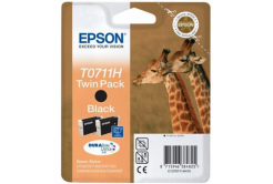 Epson C13T07114H10 black dualpack original ink cartridge