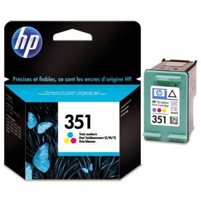 HP 351 CB337EE color original ink cartridge