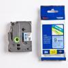 Brother TZ-521 / TZe-521, 9mm x 8m, black text / blue tape, original tape