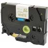 Brother original tape do tiskárny štítků, Brother, TZE-R234, gold text/white tape, 4m, 12mm, pruhovaná
