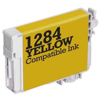 Epson T1284 yellow compatible inkjet cartridge