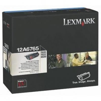 Lexmark 12A6765 black original toner
