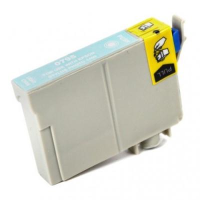Epson T0795 light cyan compatible inkjet cartridge