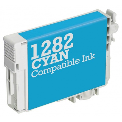 Epson T1282 cyan compatible inkjet cartridge