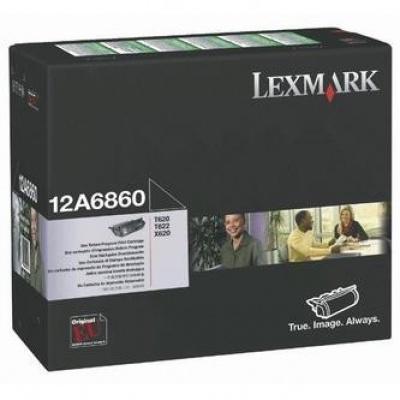 Lexmark 12A6860 black original toner