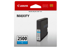Canon original ink cartridge PGI-2500 C, cyan, 9.6ml, 9301B001, Canon MAXIFY iB4050,iB4150,MB5050,MB5150,MB5350,MB5450