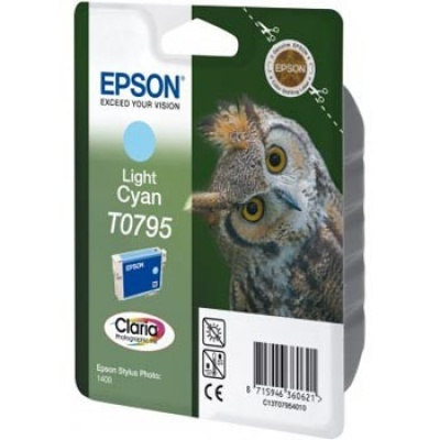 Epson C13T079540 light cyan original ink cartridge