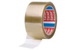 Tesa 04089, transparentní balicí páska, 75 mm x 66 m, 24 rolí v krabici