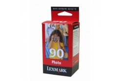 Lexmark 90 12A1990E foto color original ink cartridge