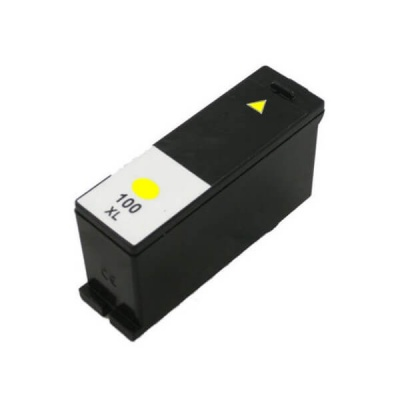 Lexmark 100XL 14N1071 yellow compatible inkjet cartridge
