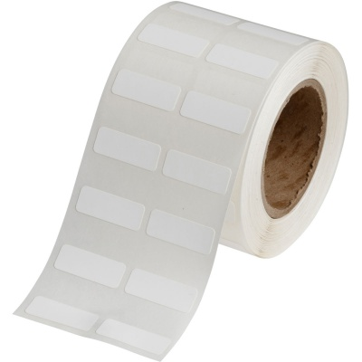 Brady J20-152-7425J / 150005, Polypropylene Labels, 25.40 mm x 9.53 mm