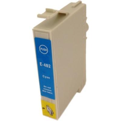 Epson T0482 cyan compatible inkjet cartridge