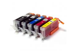 Canon CLI-551 Bk, C,M,Y + PGI-550Bk multipack compatible inkjet cartridge