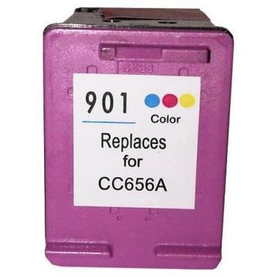 HP 901XL CC656A color compatible inkjet cartridge