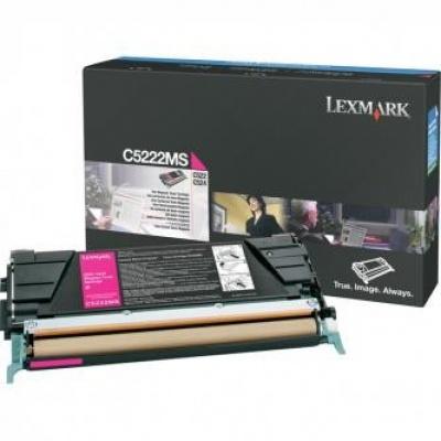 Lexmark C5222MS magenta original toner