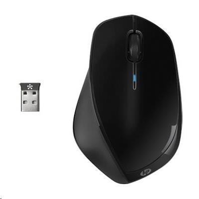 HP x4500 Wireless Black Mouse - bezdrátová laserová myš