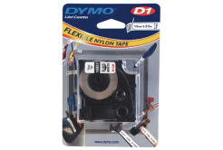 Dymo D1 16957, S0718040, 12mm x 3,5 m, black text/white tape, original tape