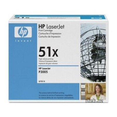HP 51X Q7551X black original toner