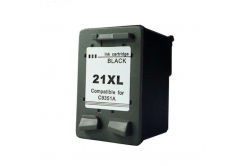 HP 21XL C9351A black compatible inkjet cartridge