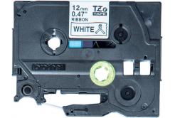 Brother original tape do tiskárny štítků, Brother, TZE-R231, black text/white tape, 4m, 12mm, pruhovaná