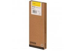 Epson original ink cartridge C13T614400, yellow, 220ml, Epson Stylus pro 4400, 4450
