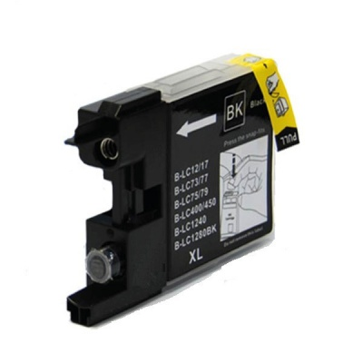 Brother LC-1240 / LC-1280 black compatible inkjet cartridge