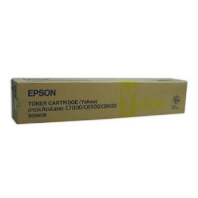 Epson C13S050039 yellow original toner