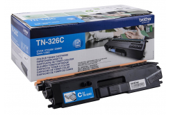 Brother TN-326C cyan original toner