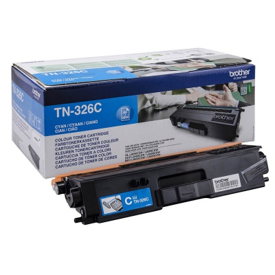 Brother TN-326C cyan original toner
