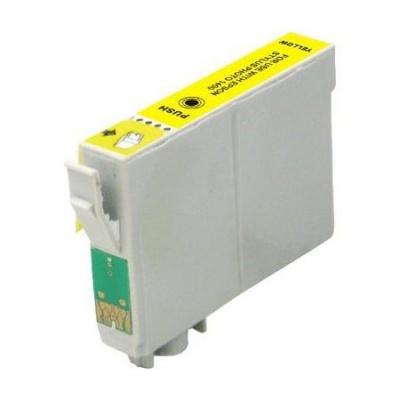 Epson T0614 yellow compatible inkjet cartridge