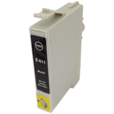 Epson T0611 black compatible inkjet cartridge