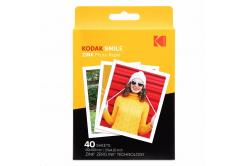 "Kodak RODZL3X440 samolepicí fotopapír ZINK 76x100 mm (3x4"") 40 listů, bílý, 290g/m2 termo"