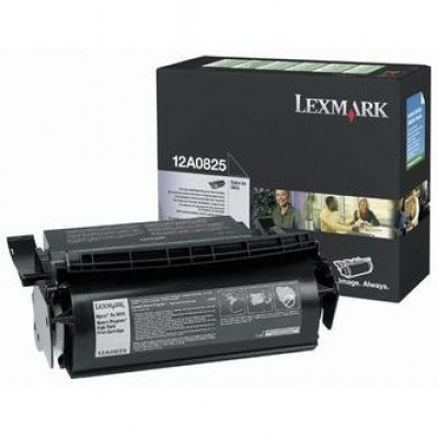 Lexmark 12A0825 black original toner