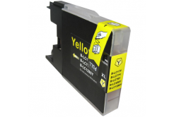 Brother LC-1240 / LC-1280 yellow compatible inkjet cartridge
